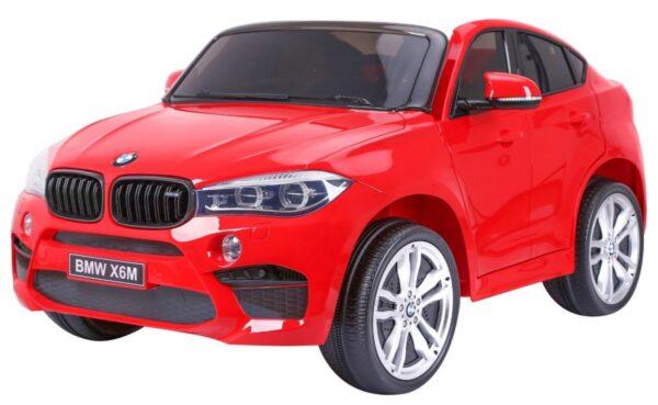 Masinuta electrica pentru copii BMW X6M (2168) XXL cu 2 locuri, Rosu