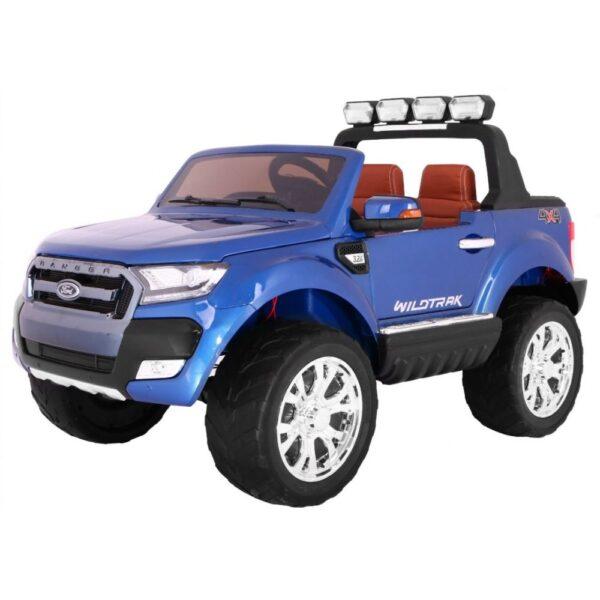 Masinuta Electrica Pentru Copii Ford Ranger 650, Ecran LCD, 4×4, Albastru metalizat