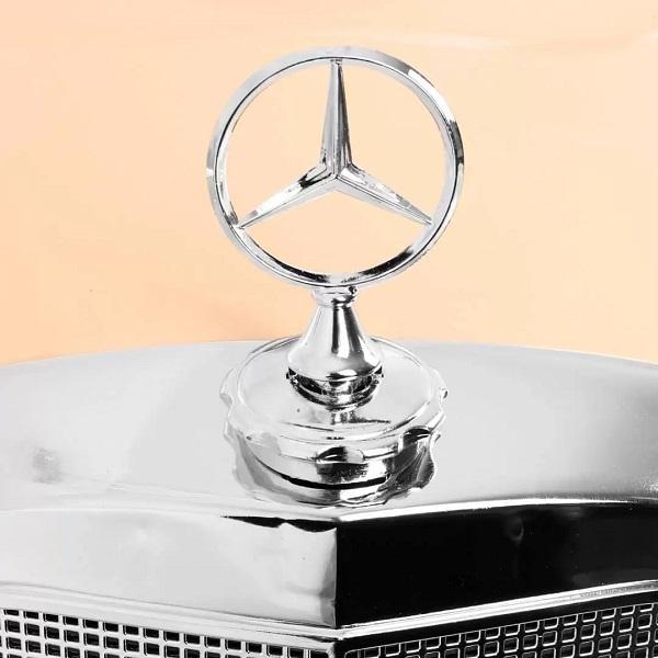 Masinuta electrica pentru copii Mercedes Benz 300S (LS618) Visiniu metalizat