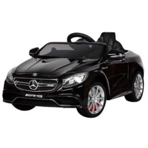 masinuta-electrica-pentru-copii-mercedes-s63-metalizat-negru