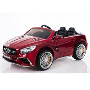 masinuta-electrica-pentru-copii-mercedes-sl65-metalizat-visiniu