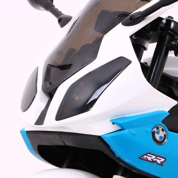 Motocicleta electrica pentru copii BMW S1000 RR (JT528), Albastru