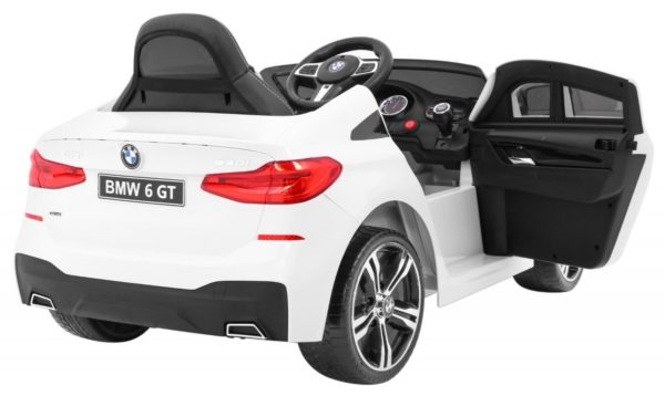 Masinuta electrica pentru copii BMW GT 640i (2164) Alb