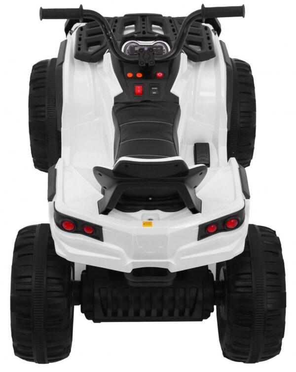 ATV electric pentru copii cu telecomanda 2.4GHz (0906) EVA ALB