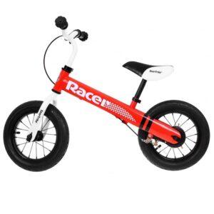 Bicicleta de echilibru fara pedale RACER, ROSU