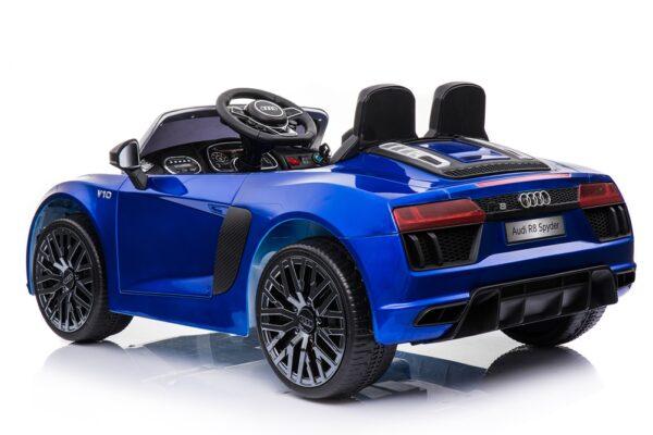 Masinuta electrica pentru copii AUDI R8 SPYDER (HL-R8) Albastru metalizat