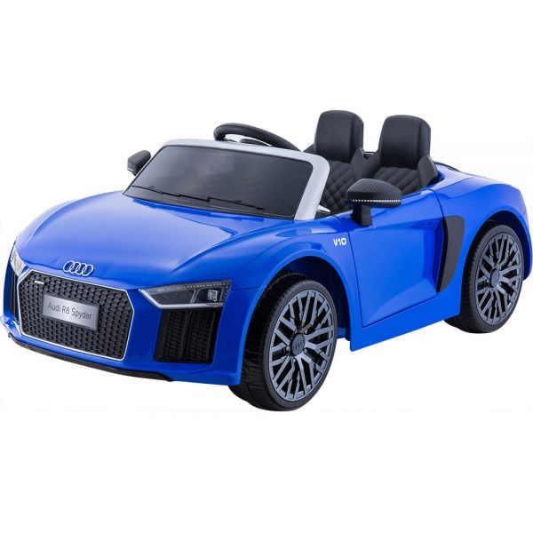 masinuta-electrica-pentru-copii-audi-r8-spyder-hl-r8-albastru-lucios