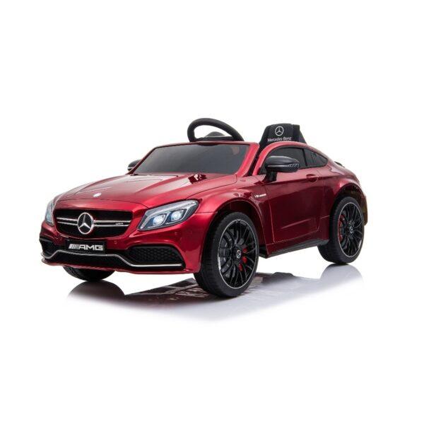 masinuta-electrica-pentru-copii-mercedes-amg-c63s-coupe-1588-visiniu-lucios