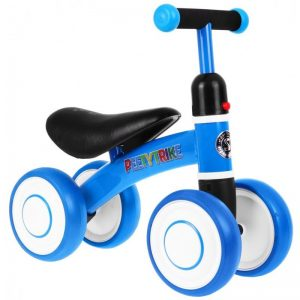 Tricicleta pentru copii fara pedale PEETYTRIKE, Albastru