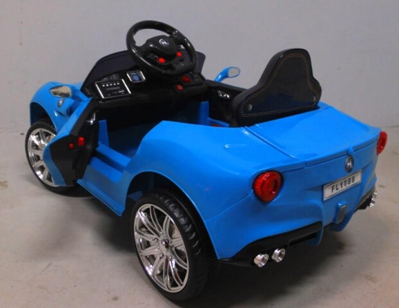 Masinuta electrica pentru copii Cabrio B11 (FL1088) Albastru