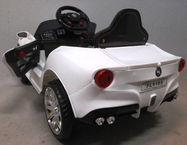 Masinuta electrica pentru copii Cabrio B11 (FL1088) Alb