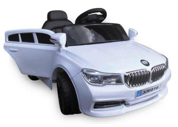 Masinuta electrica pentru copii Cabrio B4 EVA (xm826) Alb