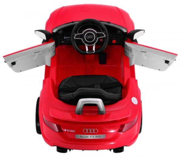 Masinuta electrica pentru copii AUDI TT RS QUATTRO (JJ1198) Rosu