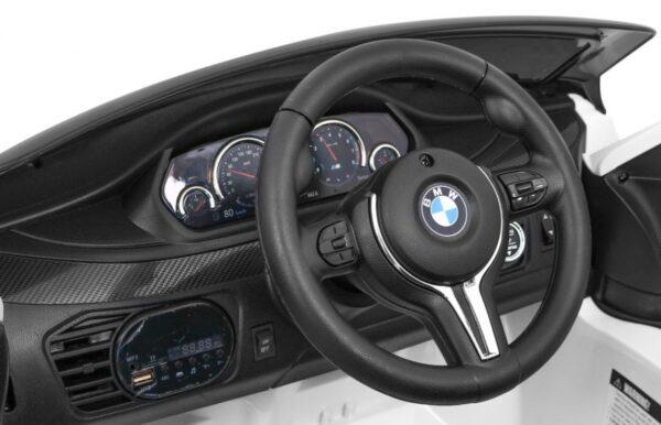 Masinuta electrica pentru copii BMW X6M (2199) Alb