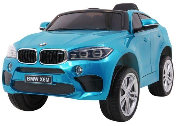 Masinuta electrica pentru copii BMW X6M (2199) Albastru LUCIOS