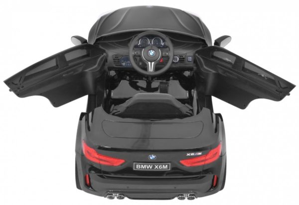 Masinuta electrica pentru copii BMW X6M (2199) Negru LUCIOS