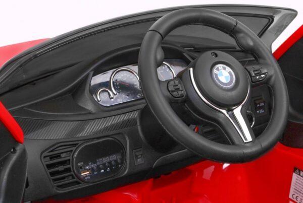 Masinuta electrica pentru copii BMW X6M (2199) Rosu
