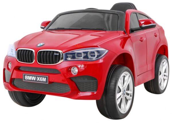 Masinuta electrica pentru copii BMW X6M (2199) Visiniu LUCIOS