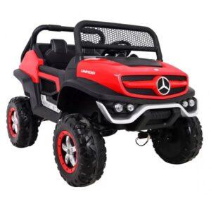 masinuta-electrica-pentru-copii-mercedes-benz-unimog-4x4-rosu