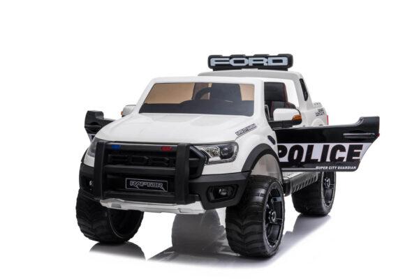 Masinuta electrica pentru copii Ford Ranger Raptor POLITIA (DK-F150) Alb