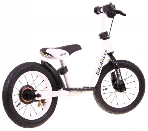 Bicicleta de echilibru fara pedale BALANCER, Alb