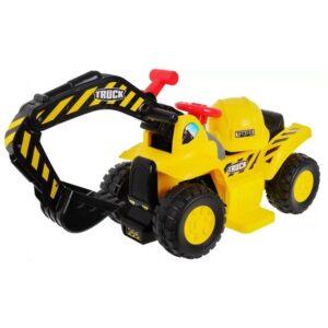 excavator-electric-pentru-copii-cu-casca-608b-galben
