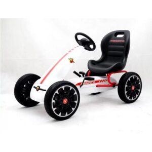 kart-cu-pedale-pentru-copii-fiat-500-abarth-9388-alb-2