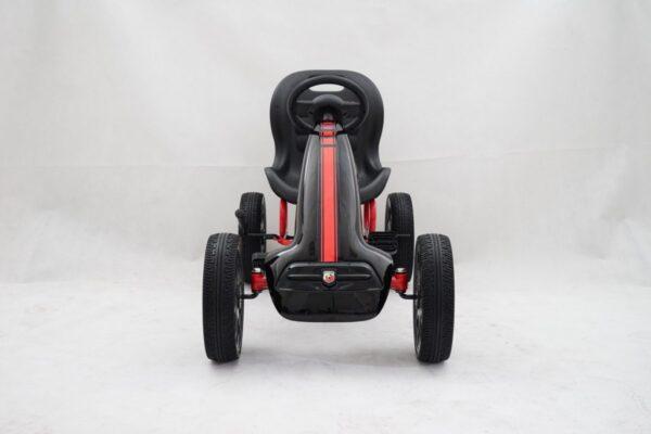 Kart cu pedale pentru copii Fiat 500 ABARTH (9388) Negru