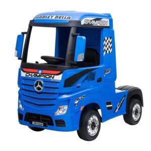masinuta-electrica-penru-copii-camion-mercedes-benz-actros-358-4x4-albastru