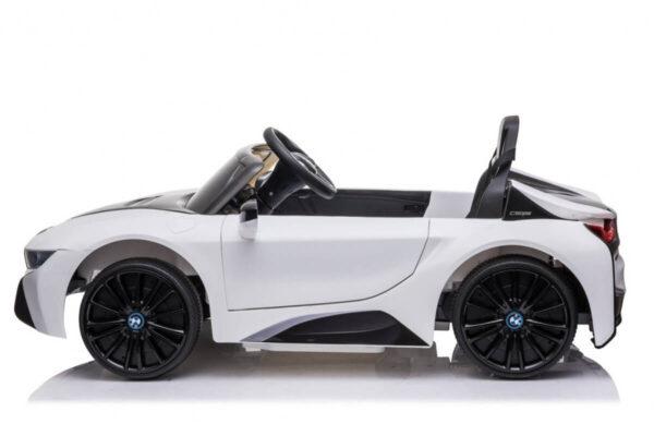 Masinuta electrica pentru copii BMW i8 Coupe NEW (JE1001) Alb