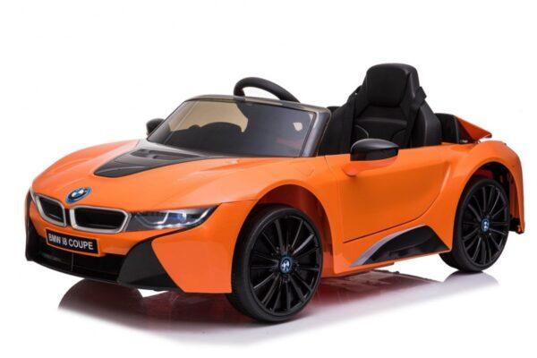 Masinuta electrica pentru copii BMW i8 Coupe NEW (JE1001) Portocaliu