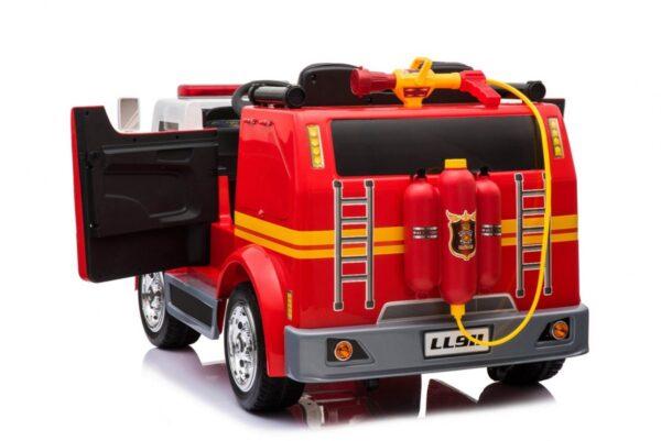 Masinuta electrica pentru copii de POMPIERI cu 2 locuri (911) Rosu