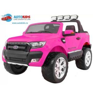 masinuta-electrica-pentru-copii-ford-ranger-650-ecran-lcd-4x4-roz