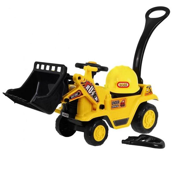 masinuta-fara-pedale-pentru-copii-tractor-cu-cupe-1004-galben