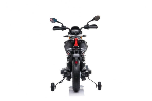 Motocicleta electrica pentru copii APRILIA DORSODURO 900 (A007) 12 volti, Negru