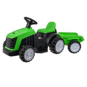 tractor-electric-pentru-copii-cu-remorca-1908-verde