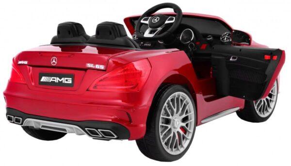 Masinuta electrica pentru copii Mercedes AMG SL65 (xmx602) Visiniu metalizat