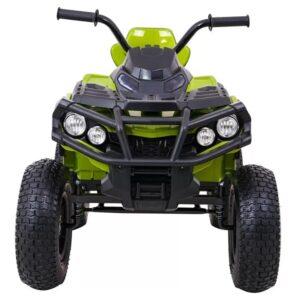 atv-electric-pentru-copii-0906-air-cu-roti-gonflabile-verde