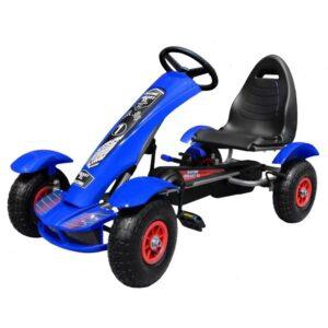 kart-cu-pedale-pentru-copii-f618-roti-gonflabile-albastru