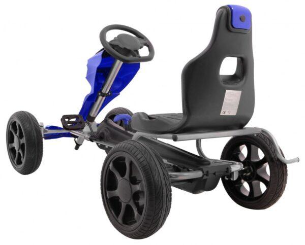 Kart cu pedale pentru copii Grand Ride (1502) Albastru