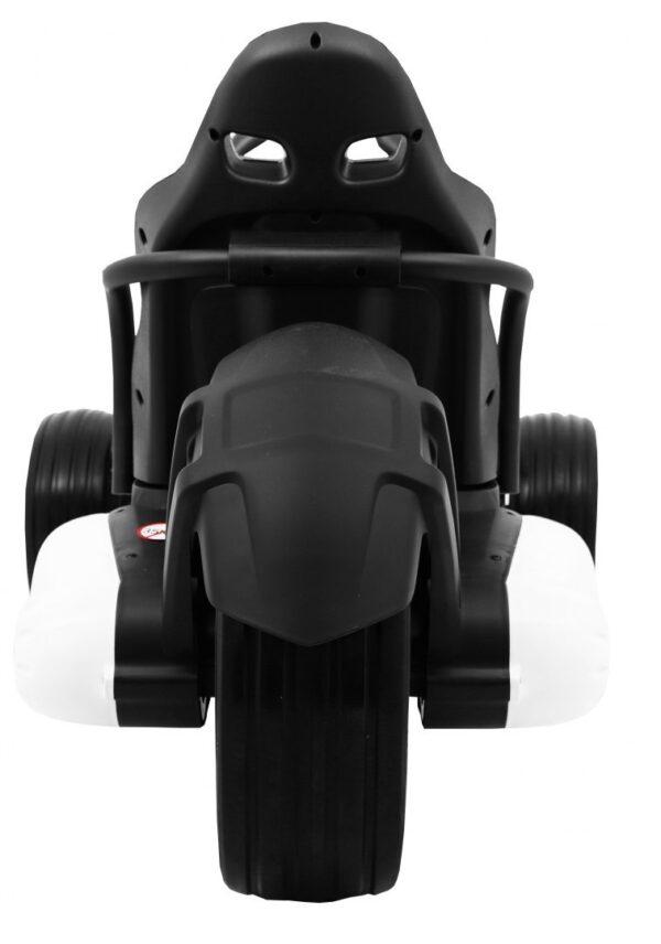 """Kart electric pentru copii 12 volti """"Bolid XR-1"""" cu 3 roti (9939) Alb"""