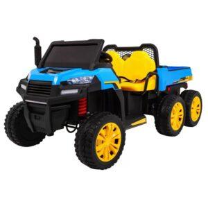 masinuta-electrica-tractor-tip-ferma-4x4-cu-remorca-a730-albastru