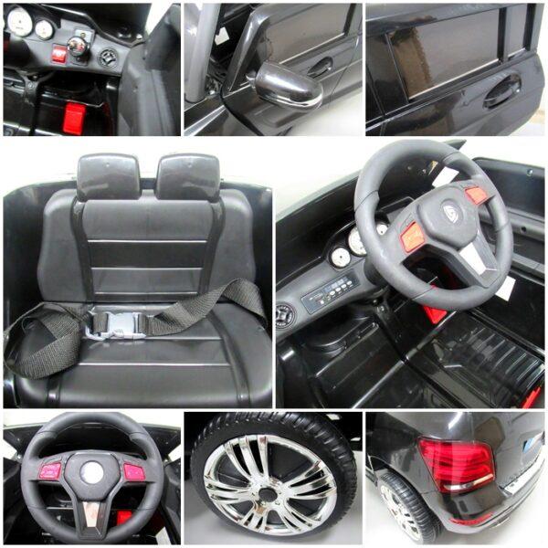 Masinuta electrica pentru copii SUV X1 (QY618) Negru
