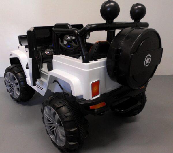 Masinuta electrica pentru copii AMY 4×4 (119) Alb
