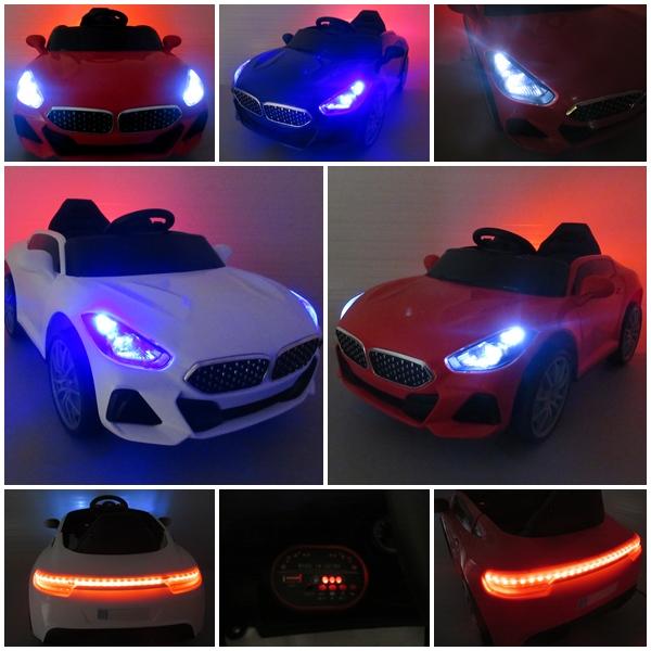 Masinuta electrica pentru copii Cabrio AA6 Albastru