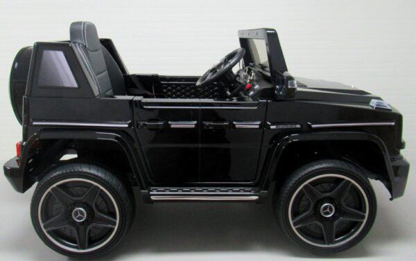 Masinuta electrica pentru copii MERCEDES BENZ G63 Negru metalizat