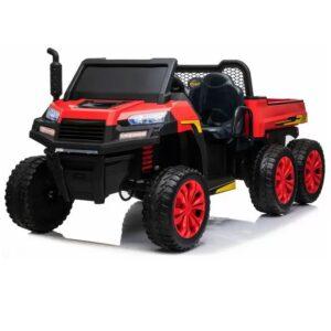 masinuta-electrica-tractor-tip-ferma-4x4-cu-remorca-a730-rosu