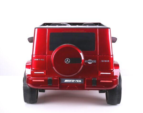 Masinuta electrica pentru copii 24 Volti Mercedes AMG G63 4×4 NOU (s307) Visiniu metalizat
