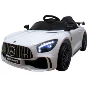 masinuta-electrica-pentru-copii-mercedes-gtr-s-alb