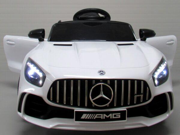 Masinuta electrica pentru copii Mercedes GTR-S Alb
